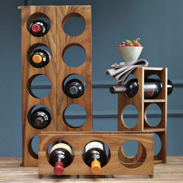 Weinkeller bauen holz  Weinregal selber bauen - 25 kreative Ideen