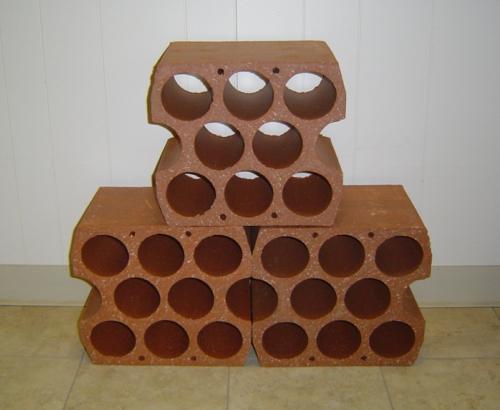 Weinregal selber bauen ziegel  Weinregal bauen - 25 stilvolle Ideen zum Selbermachen