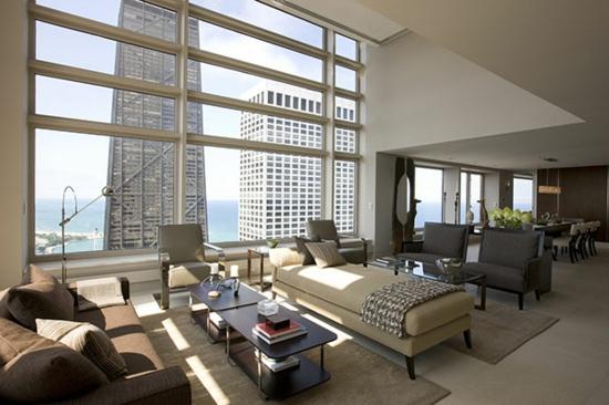 Modernes wohnzimmer gestalten leicht gemacht - Stylische wandfarben ...