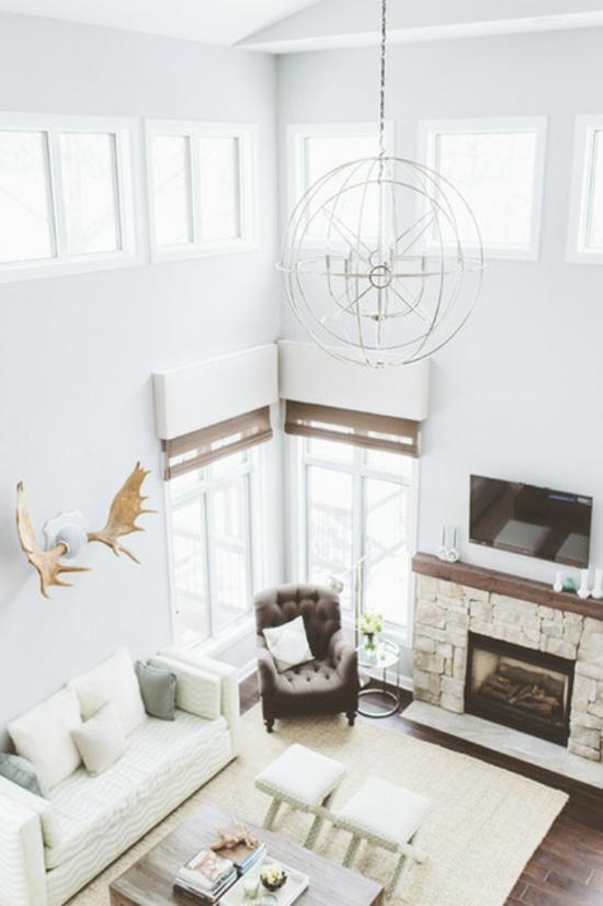 wohnzimmer boden dunkel:wohnzimmer kamin einrichten : wohnzimmer für wohnzimmer rustikal in