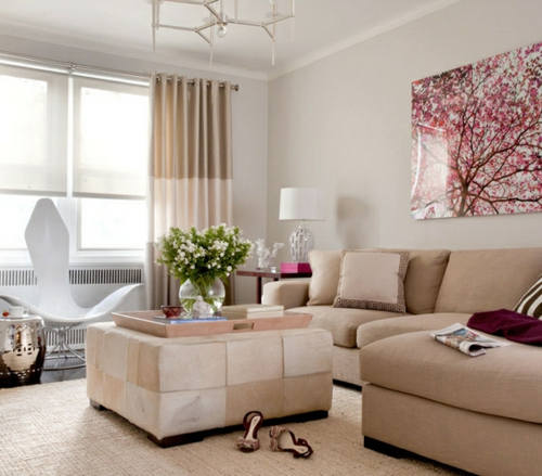 Wohnzimmer gestalten - 33 opulente Einrichtungsideen