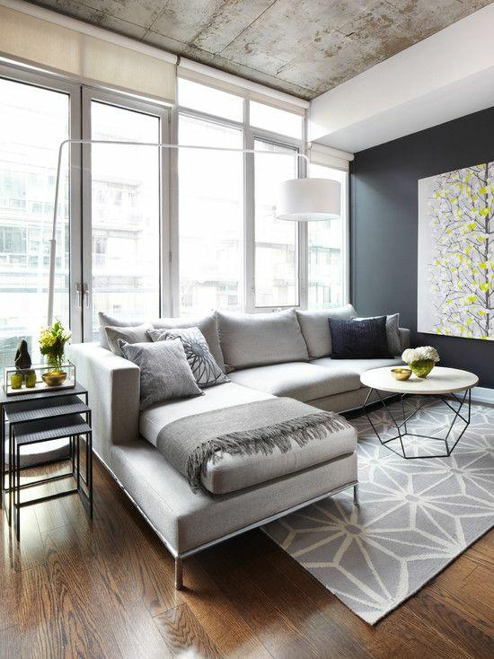 wohnzimmer gestalten modern designer möbel geometrische muster
