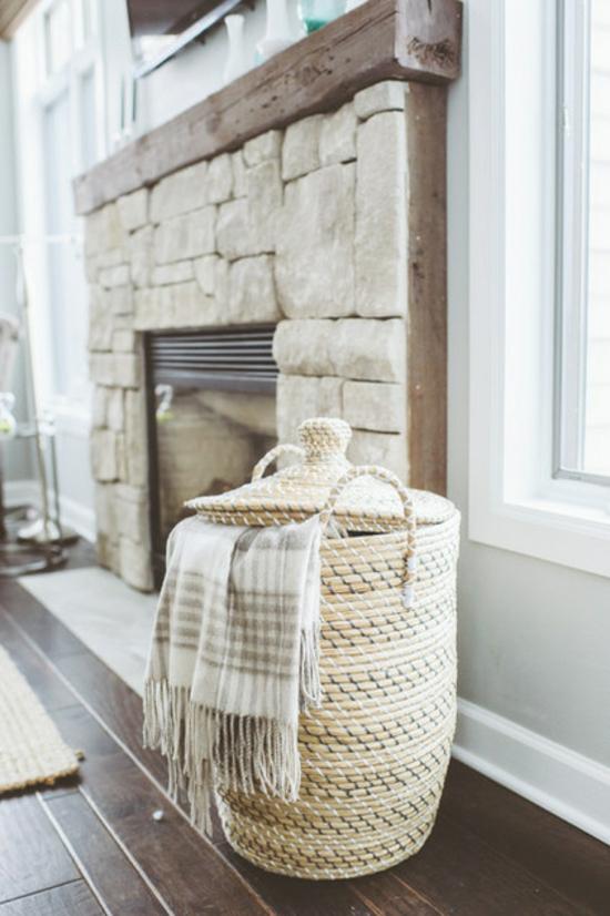 wohnideen im landhausstil der reiz eines rustikal gestalteten hauses haus garten - Wohnideen Holz Naturstein