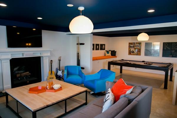 taubenblau rot einrichtung. Black Bedroom Furniture Sets. Home Design Ideas