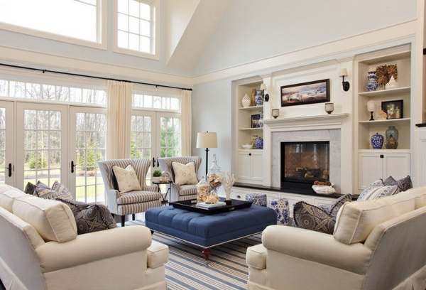 Wohnzimmereinrichtung farben  Schicke Einrichtungsideen fürs Wohnzimmer