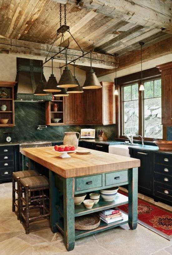 Regal Holz Küche