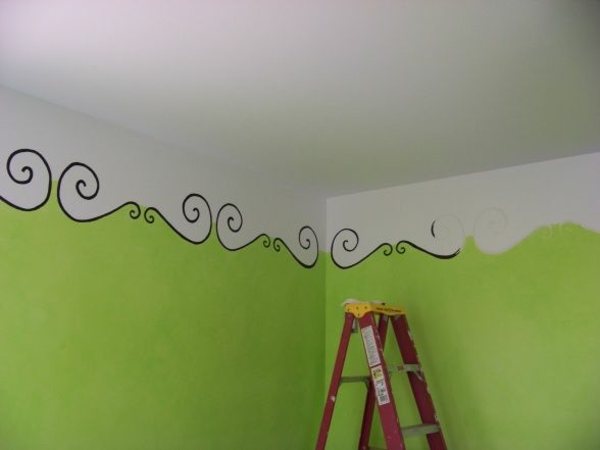 Painting Borders On Walls Ideas