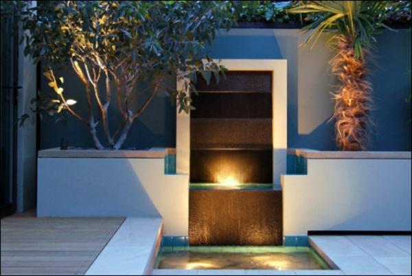 Überdachte Terrasse modern holz glas pergola eingangsbereich