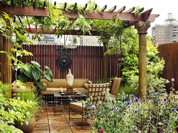 Covered patio decorating ideas - 220 Berdachte Terrasse 50 Ideen F 252 R Terrassen 252 Berdachung Von