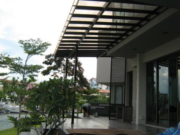 Terrassenüberdachungen modern holz glas pergola markise outdoor