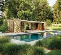 Überdachte Terrasse – 50 Ideen für Terrassenüberdachung von modernen Häusern
