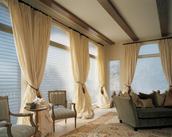 stunning gardinen wohnzimmer beige contemporary - globexusa.us ...