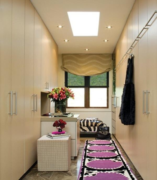 Ankleidezimmer einrichten 20 dekoideen und begehbare for Dressing room lighting ideas
