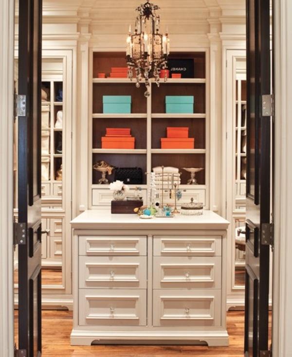 ankleidezimmer einrichten 20 dekoideen und begehbare kleiderschr nke. Black Bedroom Furniture Sets. Home Design Ideas
