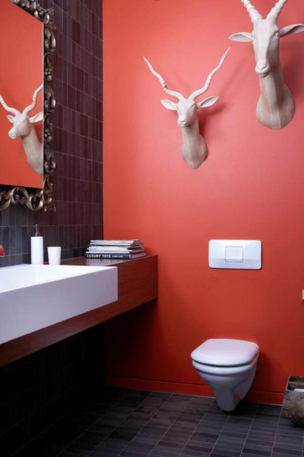 Badezimmer Ideen badideen badeinrichtung dekoartikel wand