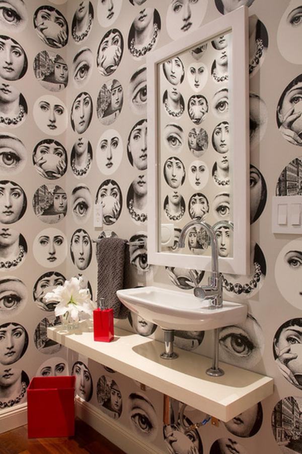 Badezimmer Ideen badideen badeinrichtung retro bilder