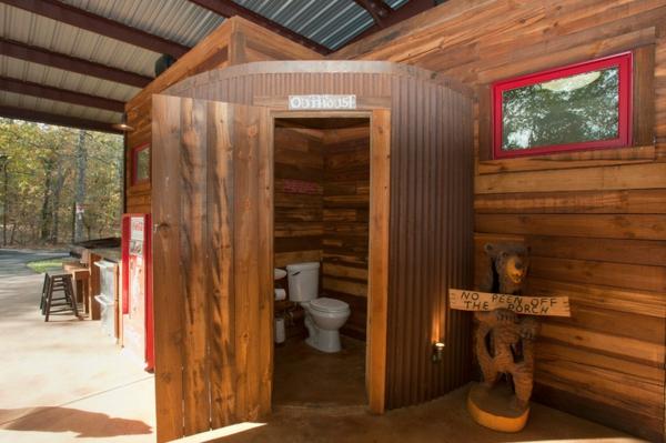 Badezimmer Ideen badideen badeinrichtung rustikal wc