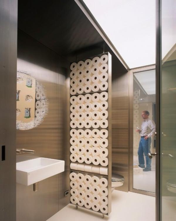 Badezimmer Ideen badideen badeinrichtung toilettenpapier