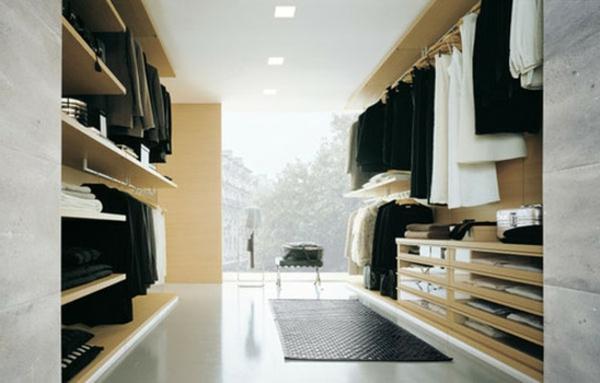 Fantastisch Begehbarer Kleiderschrank Naturholz Galerie ...