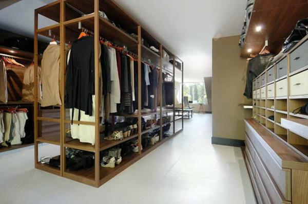 Ankleidezimmer selber planen  Begehbarer Kleiderschrank planen - 50 Ankleidezimmer schick einrichten