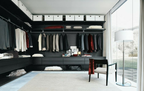 begehbarer kleiderschrank planen 50 ankleidezimmer schick einrichten. Black Bedroom Furniture Sets. Home Design Ideas
