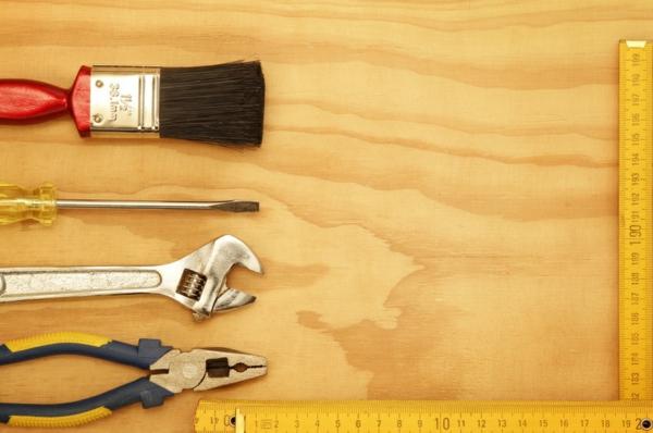 DIY-Bastelideen für Erwachsene Werkzeuge