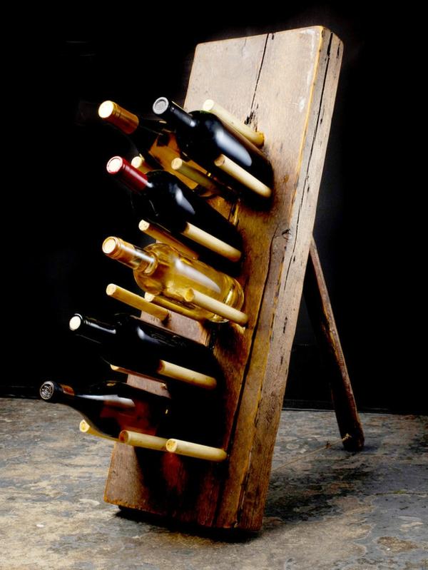 TerrassenUberdachung Freistehend Holz Selber Bauen ~ DIY Weinregale und Weinständer für die Weinliebhaber