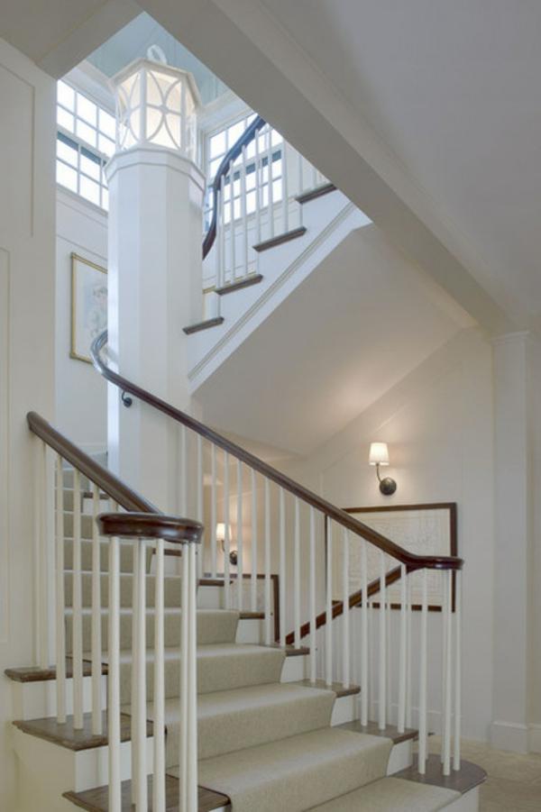 Deckenleuchten und Wandleuchten treppe dachfenster