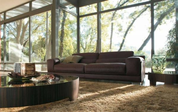 Wohnzimmer Sofa Mitten Im Raum Einrichtungsbeispiele Frs