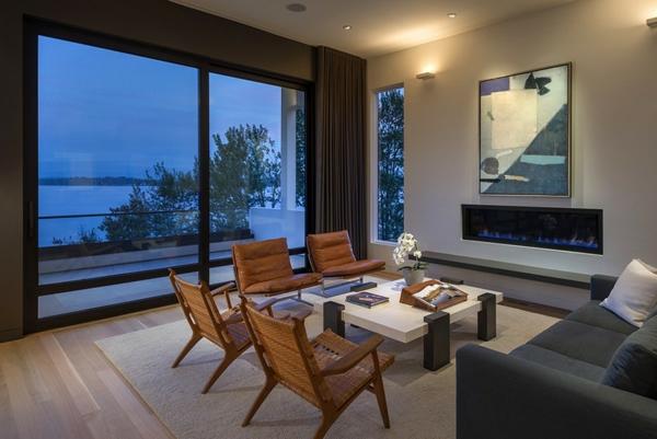 Elegantes Haus in Seattle - tolle Aussichten auf den Washingtoner See