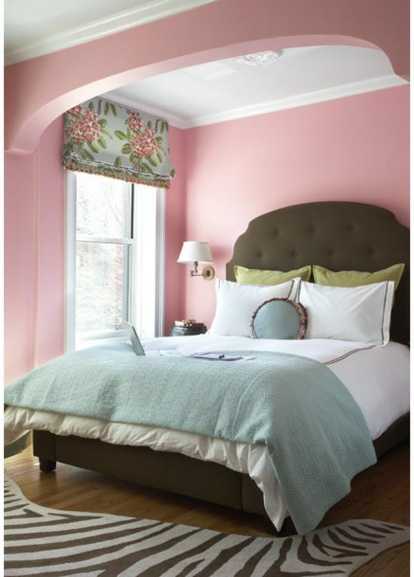 Schlafzimmer Braun Rosa - Wohndesign