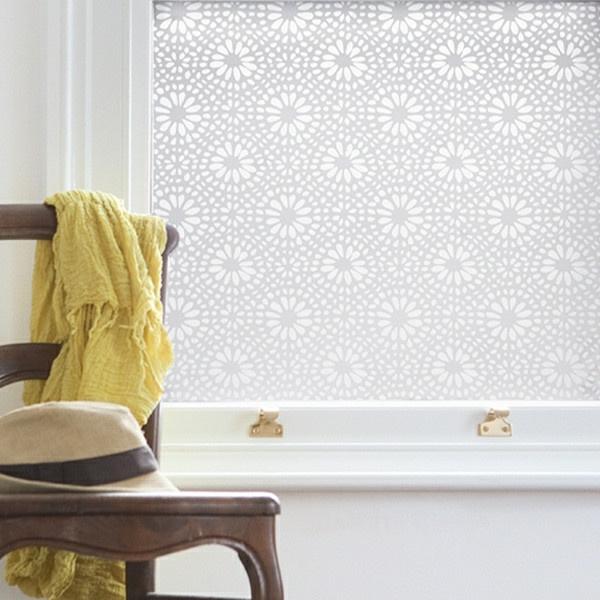 selbstklebend elegant Fensterdeko Sichtschutzfolie glastüren