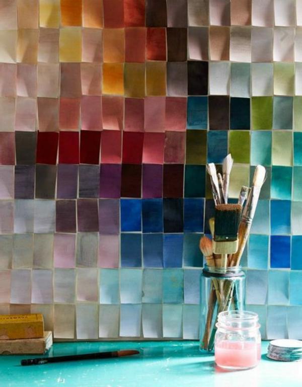 Fliesenlack und Fliesenfarben farben bürsten