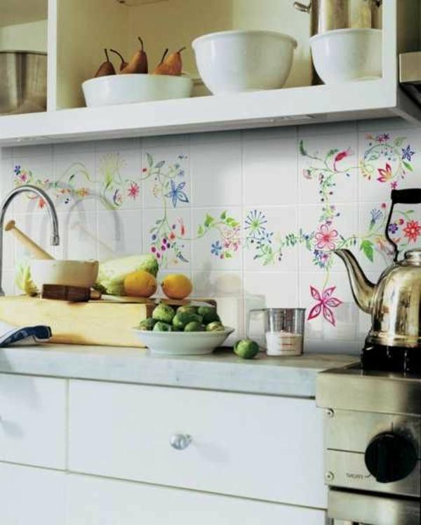 Fliesenlack küchenrückwand Fliesenfarben