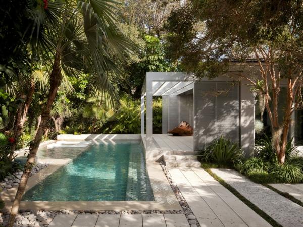 Garten und Landschaft modern gartengestaltung pool