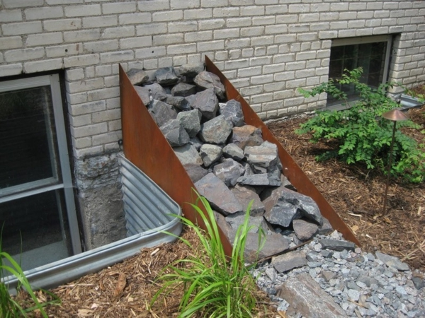 Gartengestaltung Mit Rost gartendeko aus metall und rost industrieller charakter im garten