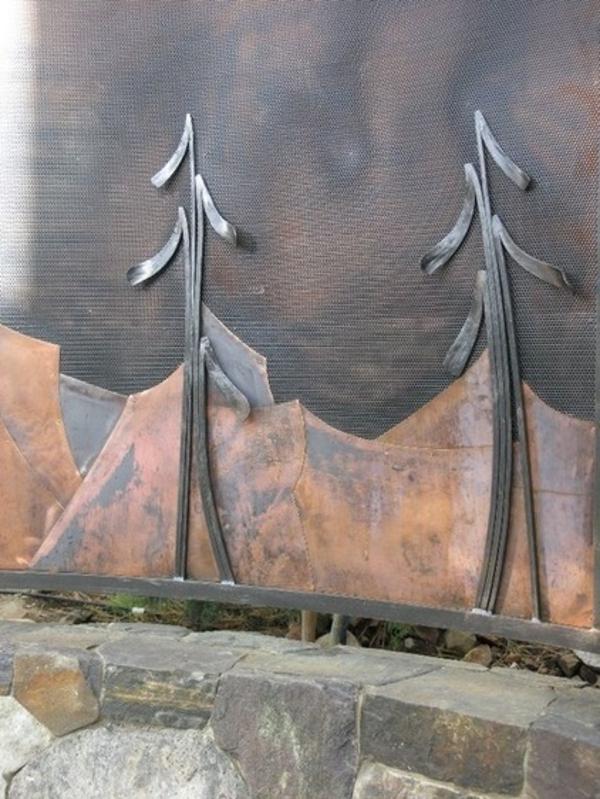 Gartendeko aus Metall und Rost traditionell gestalten