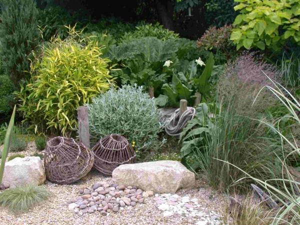 Gartengestaltung Mit Kies Und Steinen 25 Gartenideen Fur Sie