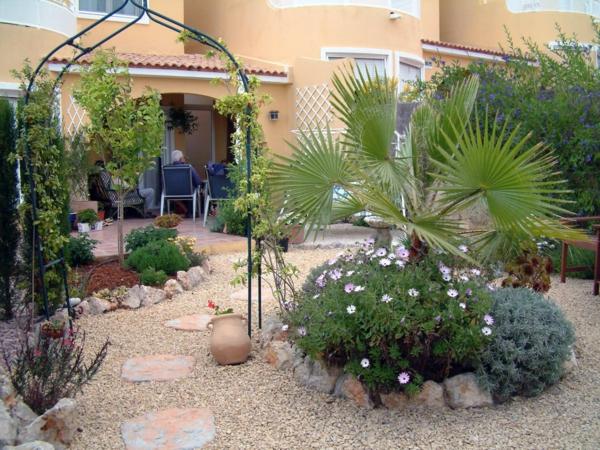 Gartengestaltung Mit Kies Und Steinen   Gartenideen Fr Sie