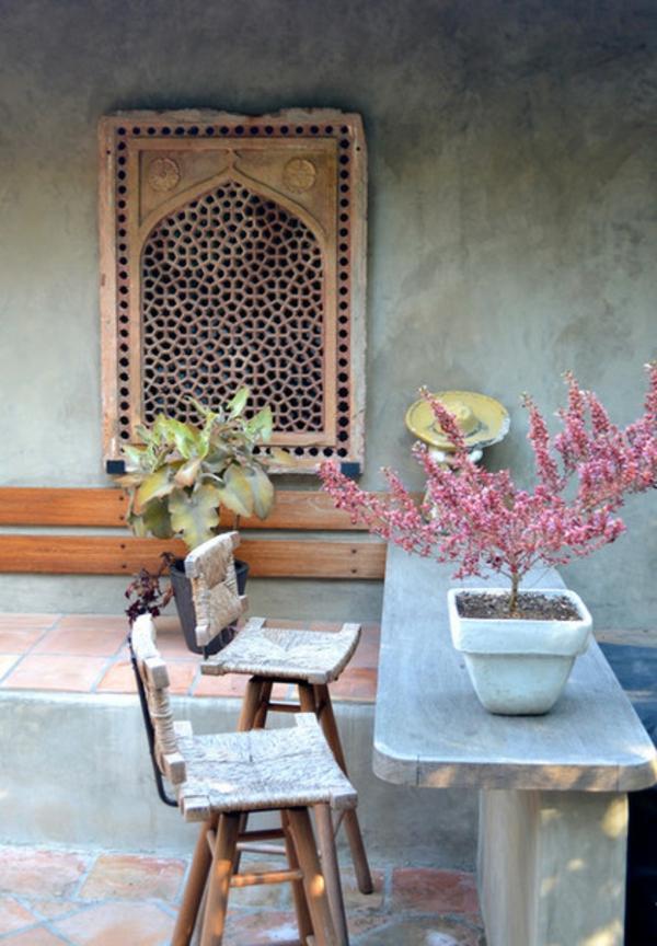 wohnzimmer palme pflege:Pin Luxus Garten Idee Gestaltung Pflanzen Tisch Mit Stühlen Aus