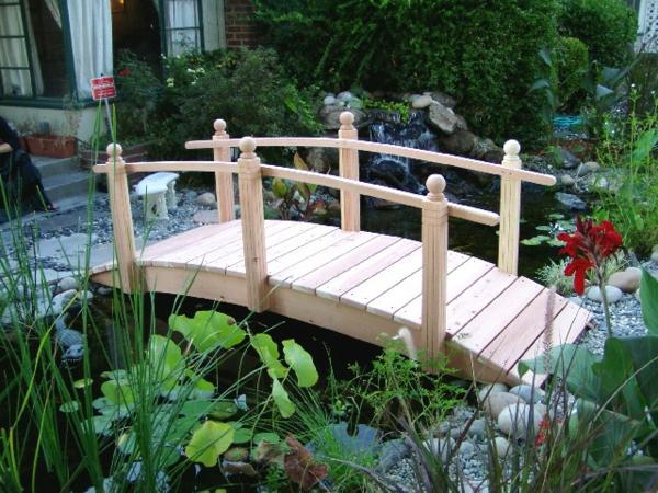 Geländer selber bauen eigenartig kunstvoll brücke