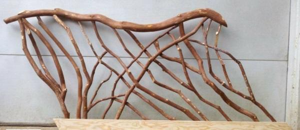 geländer selber bauen - eigenartige treppengeländer aus holz,