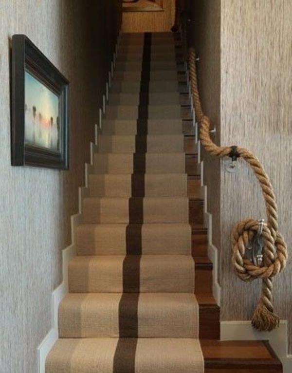 Treppengeländer Innen Holz Selber Bauen ~ Geländer selber bauen  eigenartige Treppengeländer aus Holz