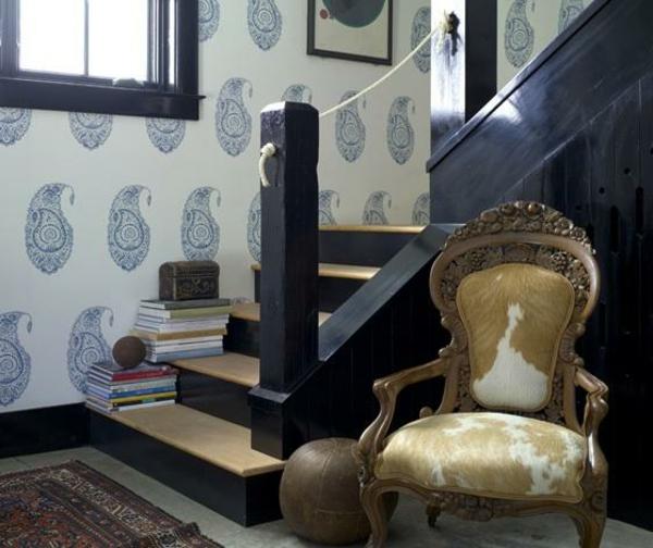 Treppengeländer Holz Ausen Selber Bauen ~ Geländer selber bauen  eigenartige Treppengeländer aus Holz