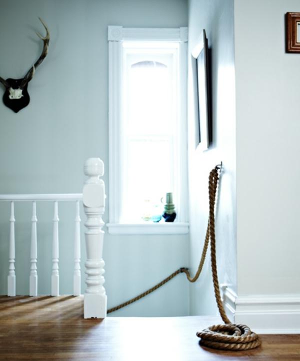 Treppengel nder holz rustikal for Gartengestaltung rustikal