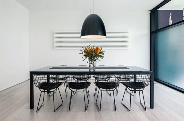 Große Pendelleuchten im Esszimmer ultra modern küche
