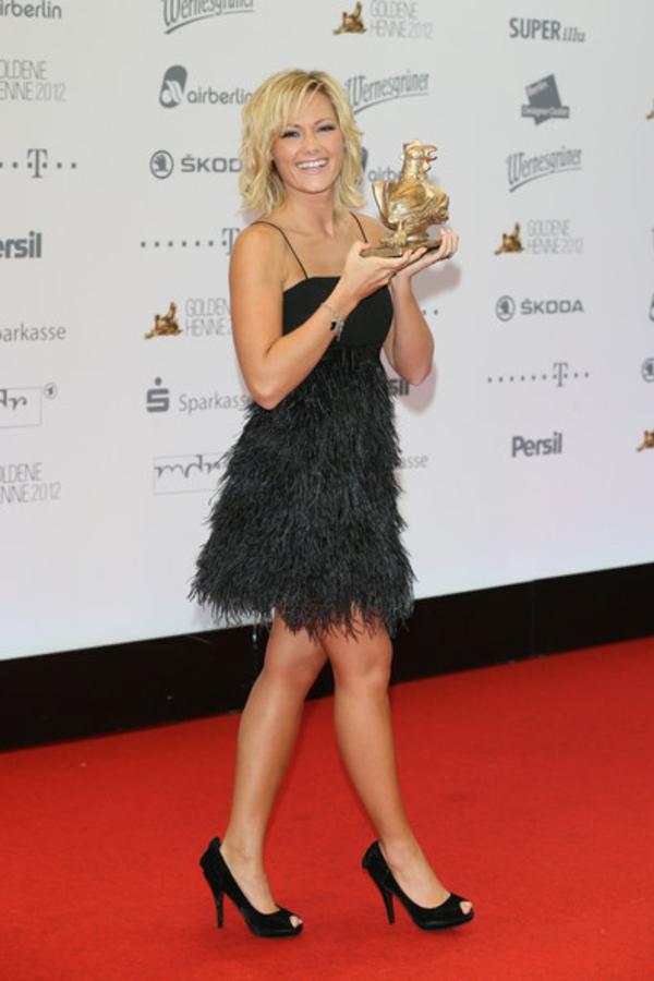 Helene Fischer Frisur awards elegant