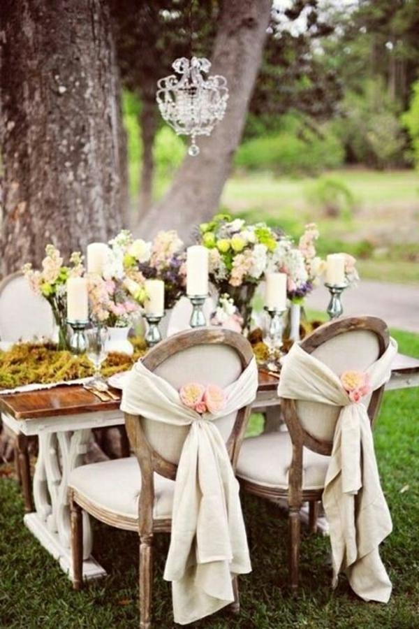 Hochzeitstisch Deko 30 Trendy Ideen F R Mehr Glanz Und Reiz