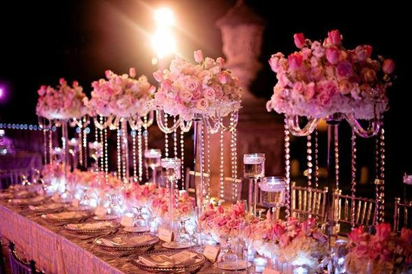 Hochzeitstisch Deko - 30 trendy Ideen für mehr Glanz und Reiz