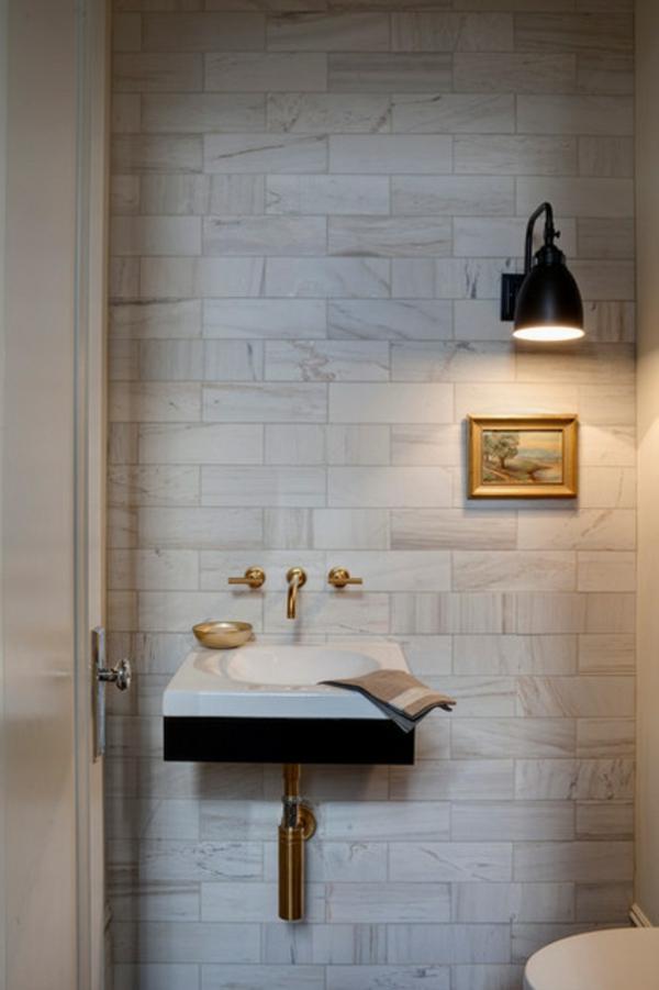Luxus Badezimmer Deko dunkel damentoilette übergangsstil